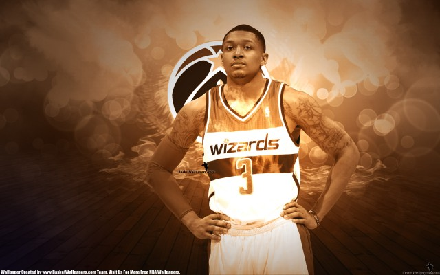 Bradley Beal Washington Wizards 2014 Wallpaper 2880x1800