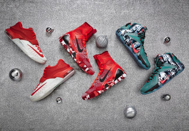 Nike Basketball `Christmas Collection` 2014