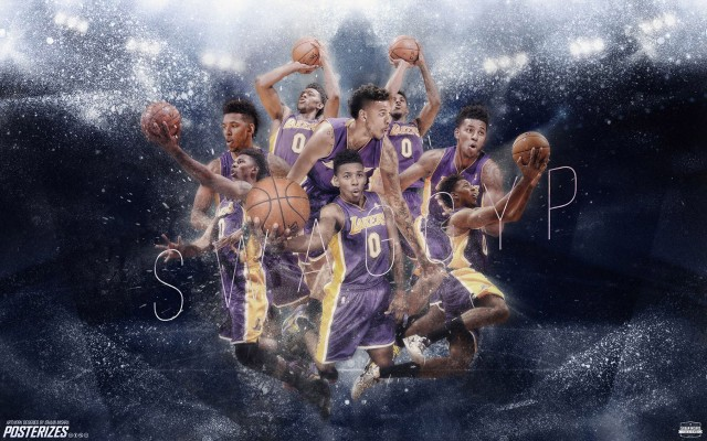 Nick Young LA Lakers 2014-2015 Wallpaper 1920x1200