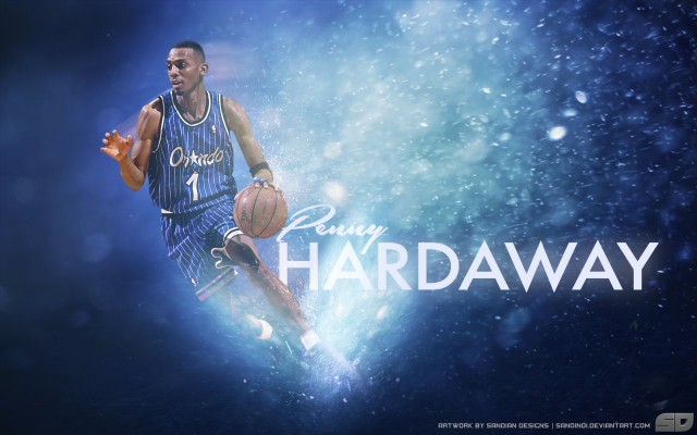 Penny Hardaway Orlando Magic Wallpaper 2880x1800