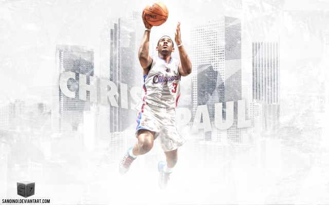 Chris Paul LA Clippers 2014 Wallpaper 2880x1800