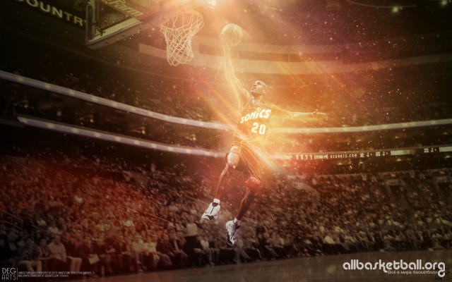Gary Payton Seattle Sonics Wallpaper 2000x1250