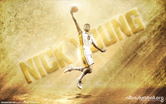 Nick Young  LA Lakers 2015 Wallpaper 1728x1080