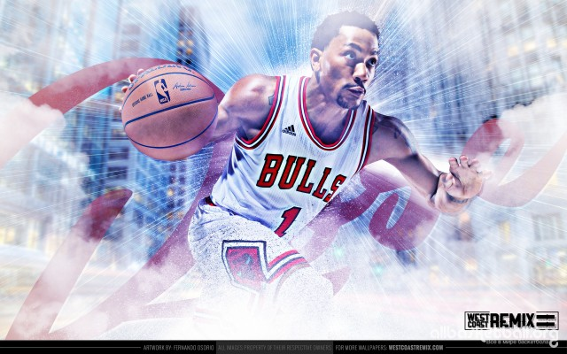 Derrick Rose City Takeover 2015 Wallpaper 2880x1800