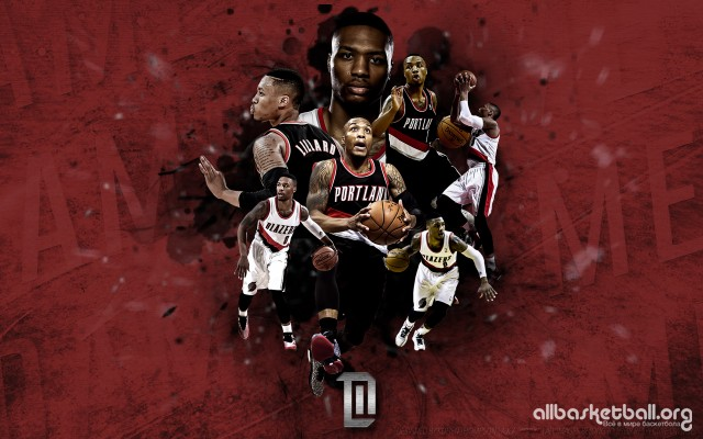 Damian Lillard Full 2015 Wallpaper 1920x1200