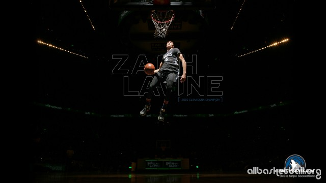 Zach Lavine Dunk Contest 2015 Wallpaper 2560x1440