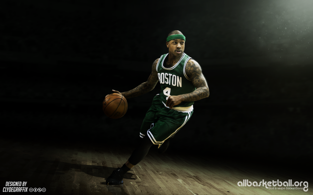 Isaiah Thomas Boston Celtics 2015 Wallpaper 1600x1000
