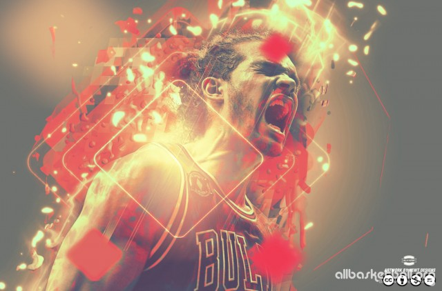 Joakim Noah Emotions 2015 Wallpaper 1024x676
