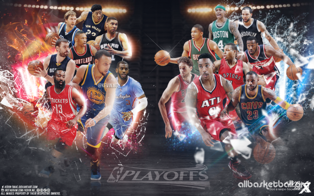 NBA Playoffs 2015 Wallpaper 1024x640