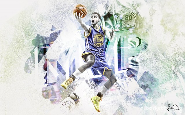Steph Curry MVP 2015 Wallpapers 1600x1000
