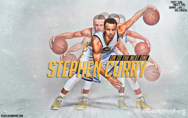 Stephen Curry On to the next one 2015 Wallpaper 1024x640