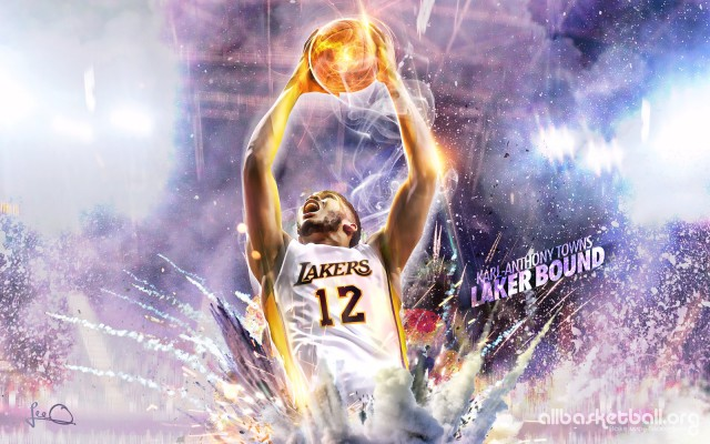 Karl-Anthony Towns Laker Bound 2015 Wallpaper 1600x1000