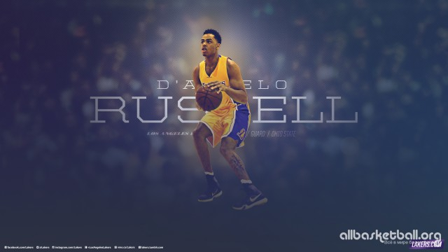 D'Angelo Russell Lakers 2015 Wallpaper 2560x1440