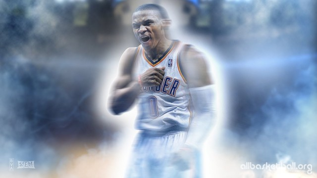 Russel Westbrook Thunder 2015 Wallpaper 1191x670