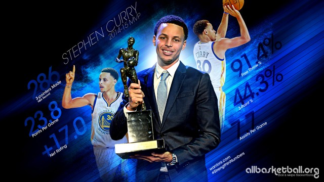 Stephen Curry 2015 MVP Wallpaper 2560x1440