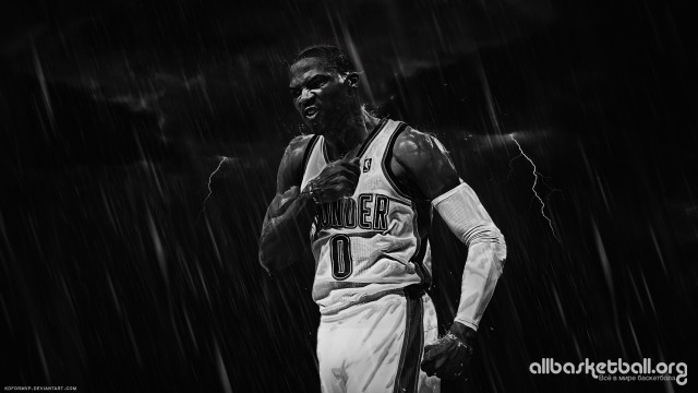 Russell Westbrook Emotion v1 2015 Wallpaper 1920x1080