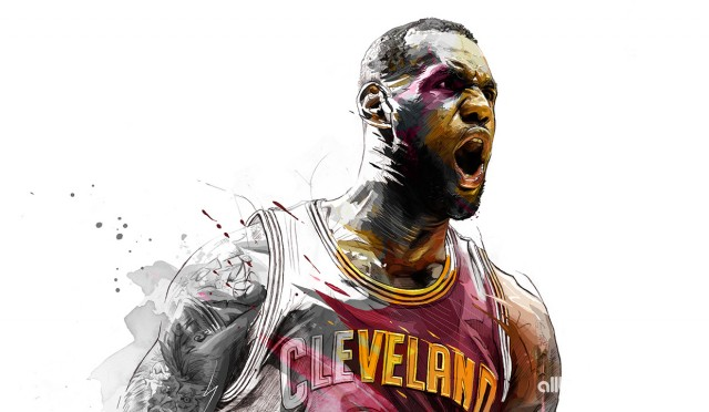 Lebron James Cavs Pictured 2015 Wallpaper 1240x721