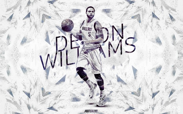 Deron Williams Mavericks 2015 Wallpaper 2880x1800