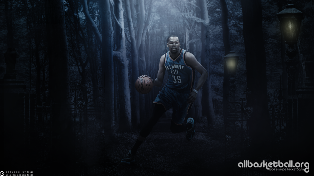 Kevin Durant Oklahoma City 2015 Wallpaper 2560x1440