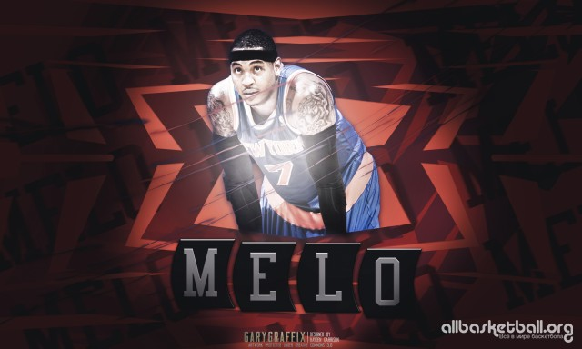 Carmelo Antony Knicks 2015 Wallpaper 5000x3000