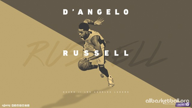 D`Angelo Russel Lakers 2015 Wallpaper 2560x1440