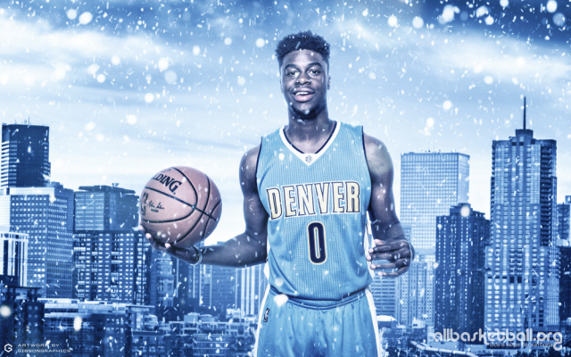 Emmanuel Mudiay Denver 2015 Wallpaper 1000x625