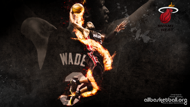 Dwyane Wade Heat 2015 Wallpaper 1024x576