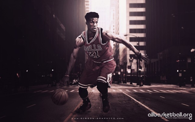 Jimmy Butler Chicago 2015 Wallpaper 1000x625