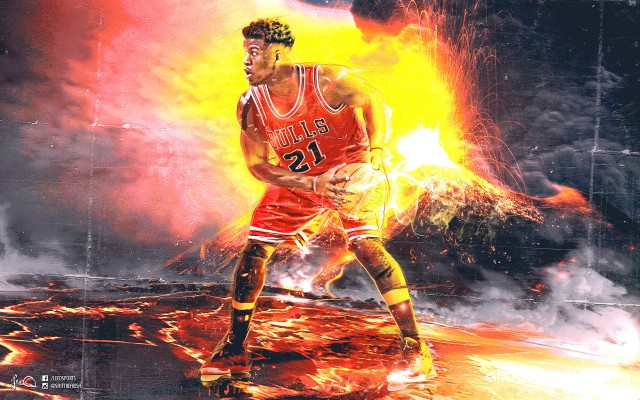 Jimmy Butler Chicago Bulls 2016 Wallpaper