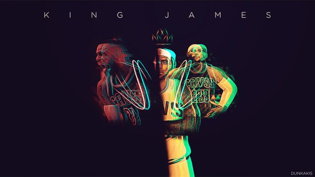 Lebron James Cavs 2017 Wallpaper 1280x720