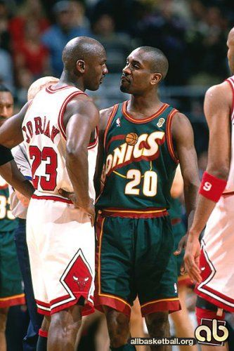 1996 NBA Finals Chicago Bulls vs Seattle Supersonicks Game 6.