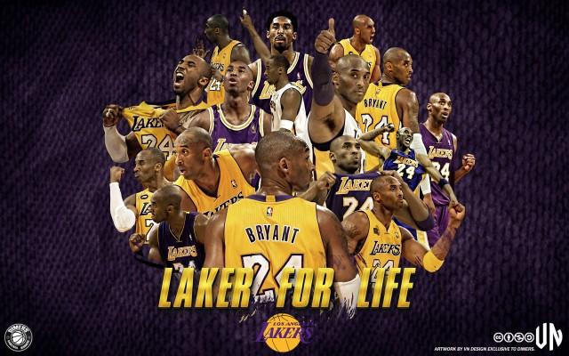 Kobe Bryant LA Lakers 1996-2015 Wallpaper 2088x1800