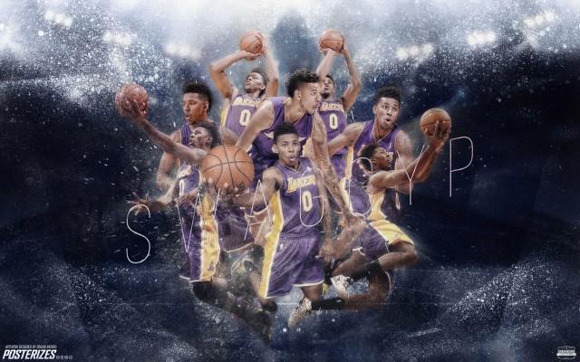 Nick Young LA Lakers 2014-2015 Wallpaper 1920x1200