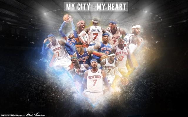Carmelo Antony New York My City My Heart Wallpaper 1728x1080