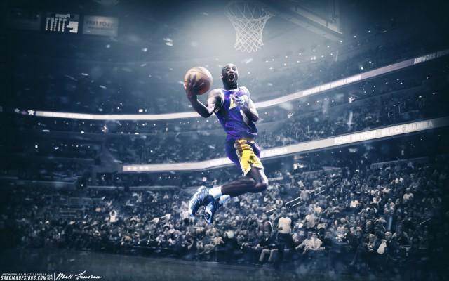 Kobe Bryant 8 Lakers 2014 Wallpaper 1728x1080