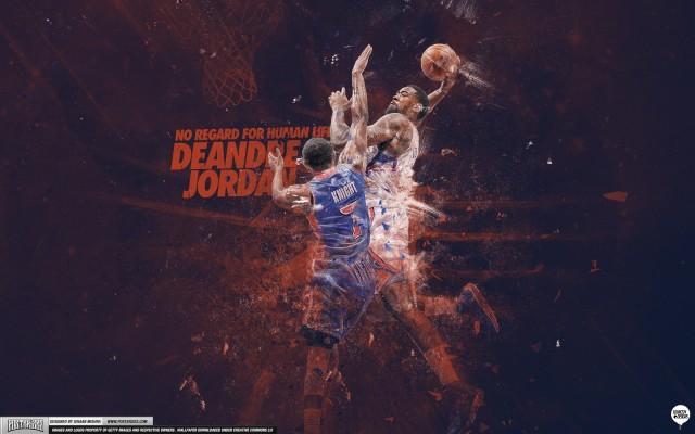 DeAndre Jordan #Posterizes Brandon Knight Wallpaper 2880x1800