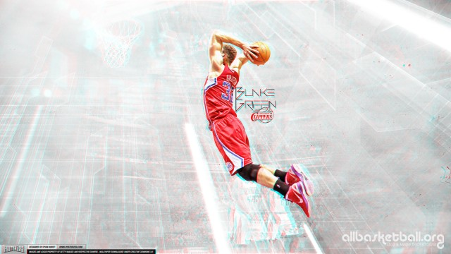 Blake Griffin Clippers 3D Wallpaper 2560x1440