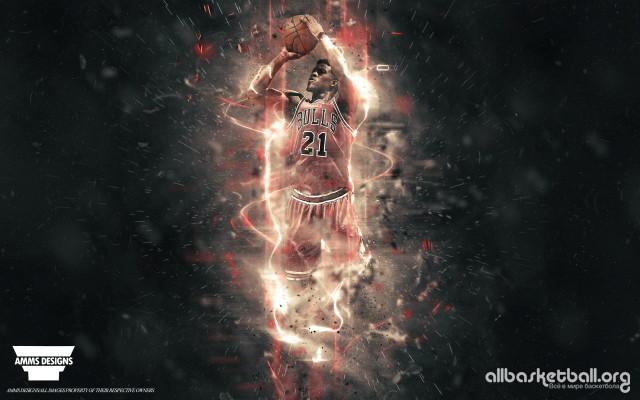 Jimmy Butler Chicago Bulls 2015 Wallpaper 2880x1800