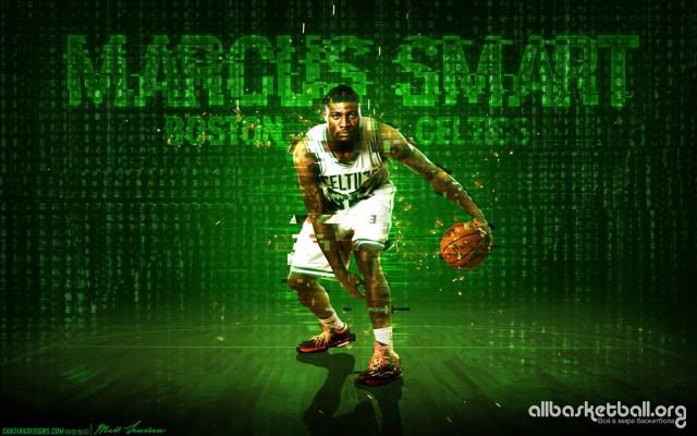 Marcus Smart Boston Celtics 2015 Wallpaper 1728x1080