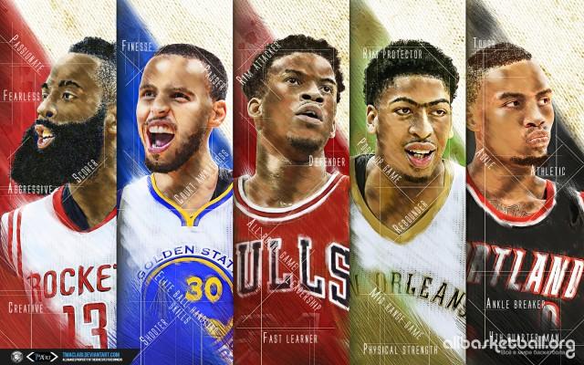 NBA Race For MVP 2015 Wallpaper 1680x1050