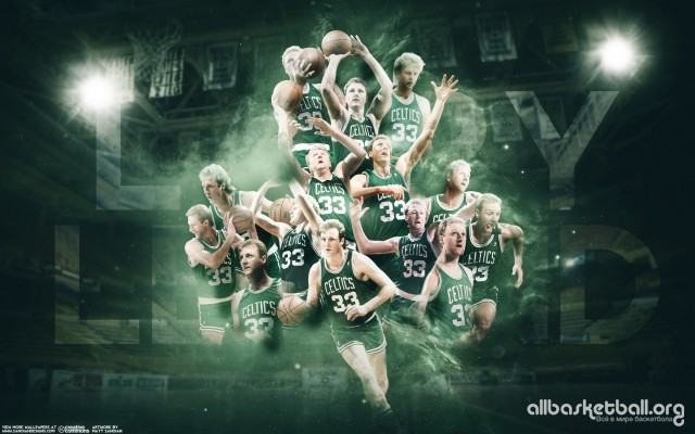 Larry Bird Boston Celtics 2015 Wallpaper 1728x1080