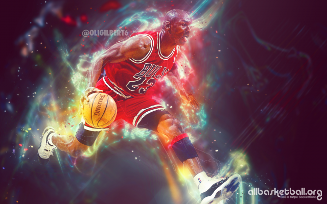 Michael Jordan Bulls Light 2015 Wallpaper 2048x1280