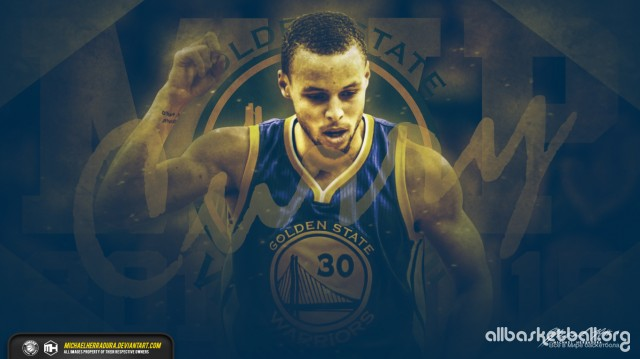 Stephen Curry MVP 2015 Wallpaper 1366x768