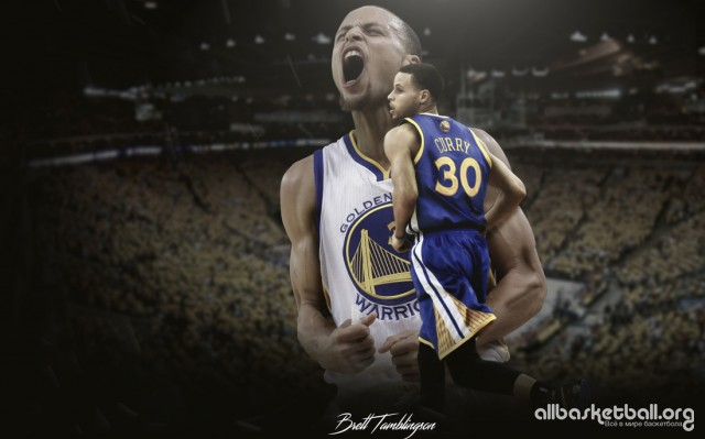 Steph Curry Passion 2015 Wallpaper 1100x687