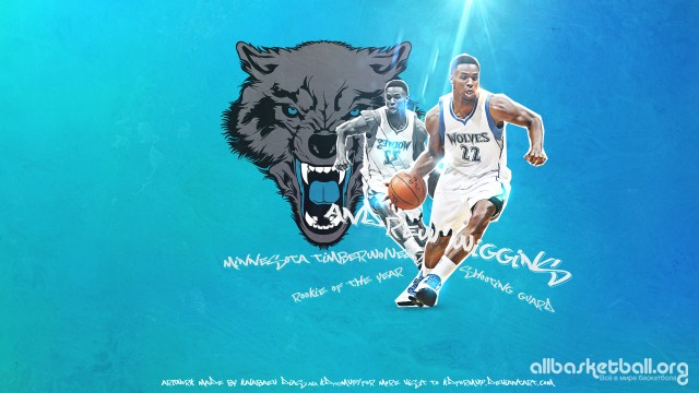Andrew Wiggins Wolves 2015 Wallpaper 1920x1080