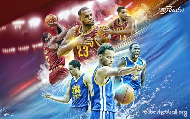 Cavs vs Warriors NBA Finals 2015 Wallpaper 1600x1000