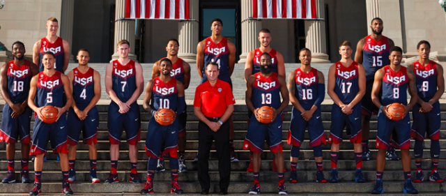USA Basketball Mix