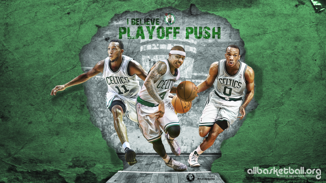 Boston Celtics Playoff Push 2015 Wallpaper 1920x1080