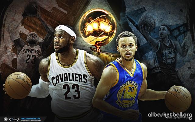 Cavs vs Warriors Finals 2015 Wallpaper 1680x1050