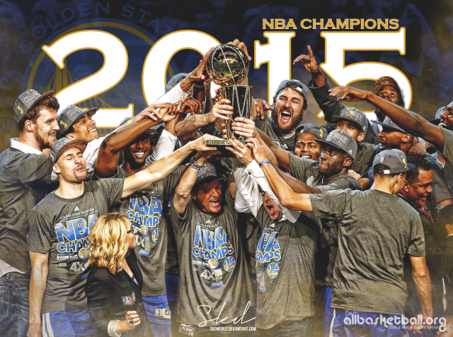 GSW 2015 NBA Champs Wallpaper 1340x1000